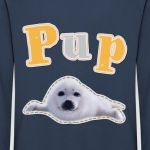 Animal Planet Pup sel langermet barn-T-skjorte - Premium langermet T-skjorte for barn