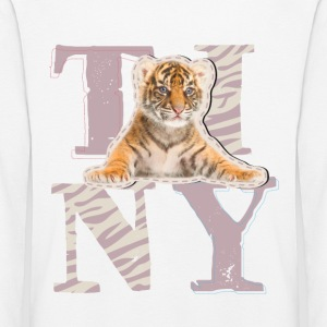 Animal Planet Tiny Tiger langermet barn-T-skjorte - Premium langermet T-skjorte for barn