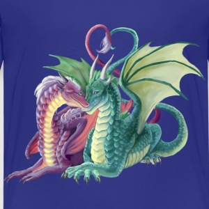 love dragons T-Shirts - Kinder Premium T-Shirt