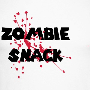 ZOMBIE SNACK Long sleeve shirts - Men's Long Sleeve Baseball T-Shirt