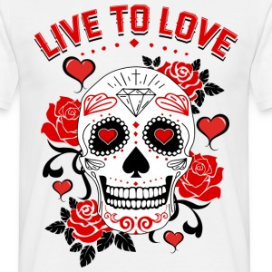 live to love Tee shirts - T-shirt Homme
