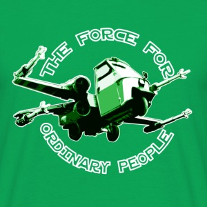 X-wing ordinary green T-Shirts - Men's T-Shirt