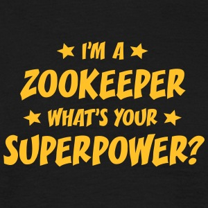 im a zookeeper whats your superpower t-shirt - Men's T-Shirt