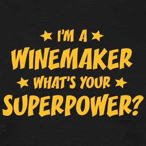 im a winemaker whats your superpower t-shirt - Men's T-Shirt