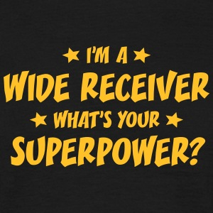 im a wide receiver whats your superpower t-shirt - Men's T-Shirt