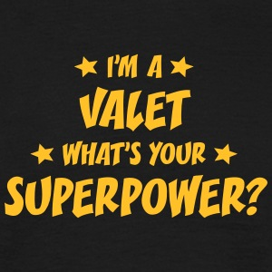 im a valet whats your superpower t-shirt - Men's T-Shirt