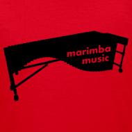 Motiv ~ Marimba Music Kinder-Shirt