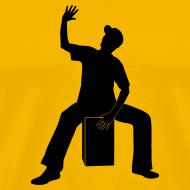 Motiv ~ Cajon-Spieler 2 Shirt (Herren)
