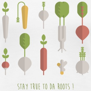 STAY TRUE TO DA ROOTS! T-Shirts - Frauen Premium T-Shirt