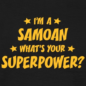 im a samoan whats your superpower t-shirt - Men's T-Shirt
