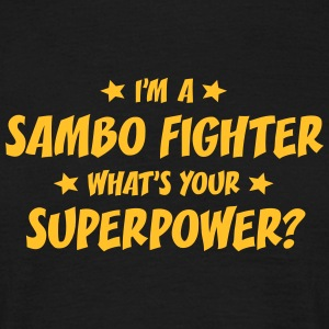 im a sambo fighter whats your superpower t-shirt - Men's T-Shirt