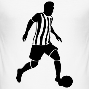 Fußball - Soccer T-Shirts - Men's Slim Fit T-Shirt