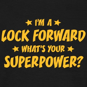 im a lock forward whats your superpower t-shirt - Men's T-Shirt