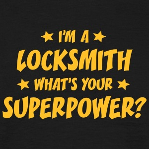 im a locksmith whats your superpower t-shirt - Men's T-Shirt