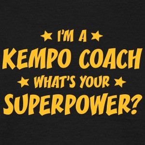 im a kempo coach whats your superpower t-shirt - Men's T-Shirt