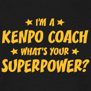 im a kenpo coach whats your superpower t-shirt - Men's T-Shirt