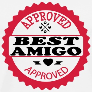 Approved best amigo T-Shirts - Men's Premium T-Shirt