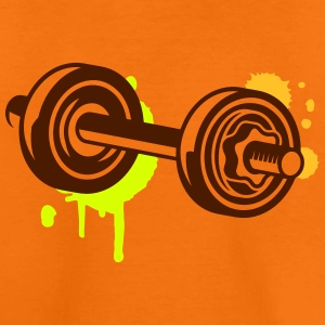 A dumbbell with graffiti Shirts - Teenage Premium T-Shirt