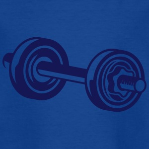 A dumbbell for training Shirts - Kids' T-Shirt