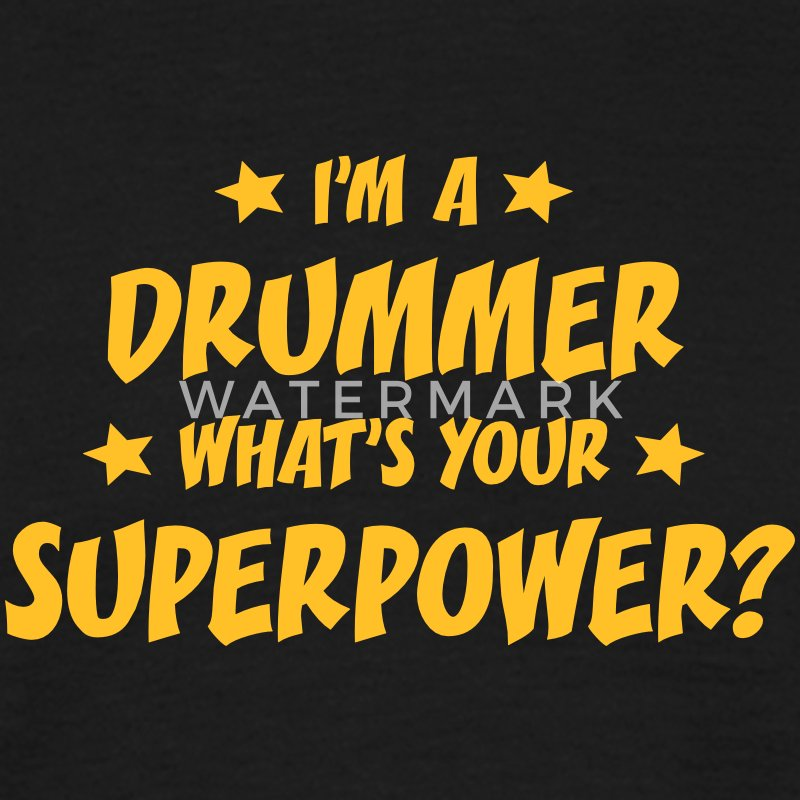im a driver whats your superpower t-shirt - Men's T-Shirt