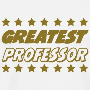 Greatest professor T-shirts - Mannen Premium T-shirt