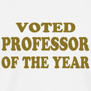 Voted professor of the year T-skjorter - Premium T-skjorte for menn