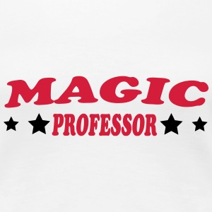 Magic professor T-Shirts - Frauen Premium T-Shirt