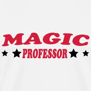 Magic professor T-skjorter - Premium T-skjorte for menn