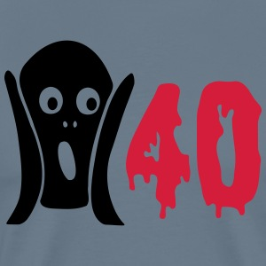 Scary 40th birthday T-Shirts - Men's Premium T-Shirt