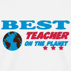 Best teacher on the planet T-Shirts - Men's Premium T-Shirt