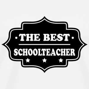 The best schoolteacher T-shirts - Herre premium T-shirt