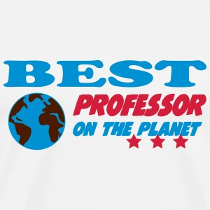 Best professor on the planet T-shirts - Mannen Premium T-shirt