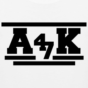- A _K - Tank Tops - Men's Premium Tank Top