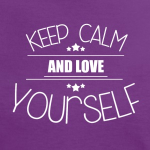 Keep Calm - Love yourself T-Shirts - Frauen Kontrast-T-Shirt