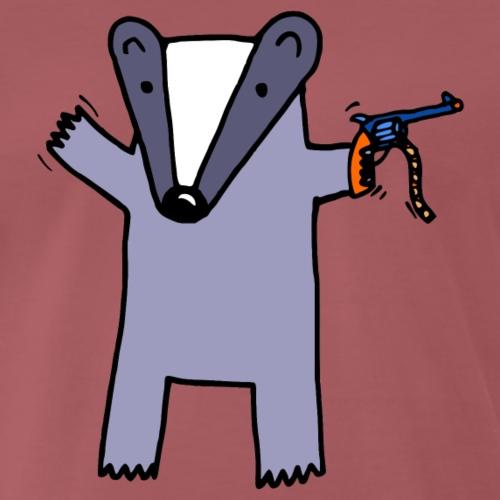 Badger Likes Cap Guns
