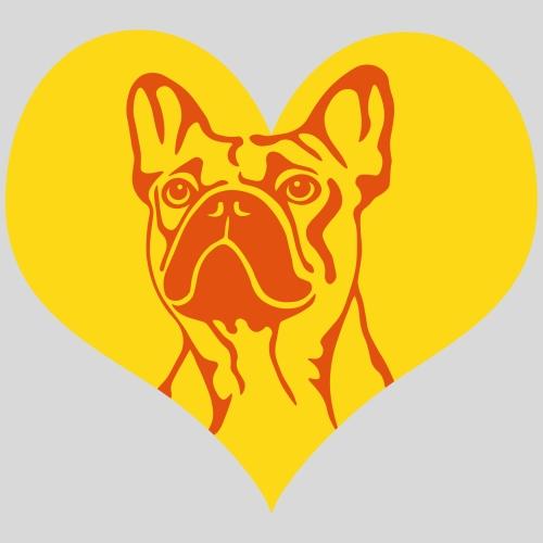 FranzBulldogge im Herz