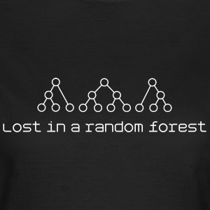 Women's Lost in a random forest - Women's T-Shirt
