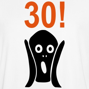 Scary 30th birthday T-Shirts - Men's Football Jersey