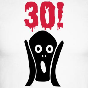 """Geburtstag T-Shirts mit """"30 Geburtstag Schrei"""""""