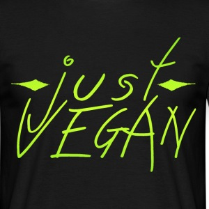 Just Vegan  T-Shirts - Männer T-Shirt