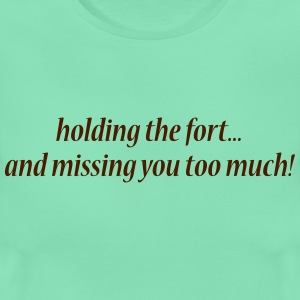 Holding the fort - Women's T-Shirt