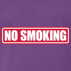 no smoking T-shirts - Mannen Premium T-shirt