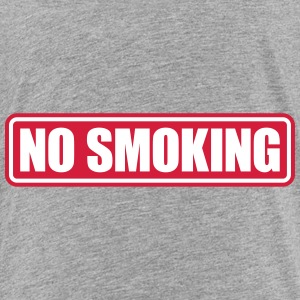 no smoking Skjorter - Premium T-skjorte for barn