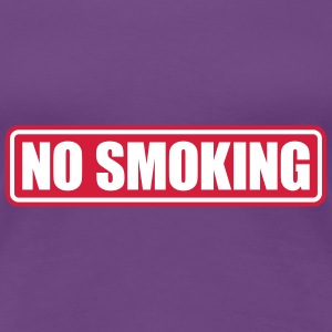 no smoking T-shirts - Vrouwen Premium T-shirt