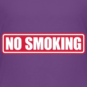 no smoking Camisetas - Camiseta premium niño