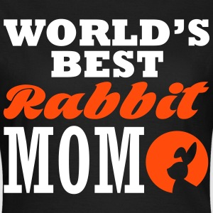 worlds best rabbit mom T-shirts - T-shirt dam