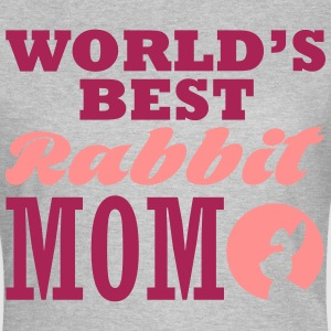 worlds best rabbit mom T-skjorter - T-skjorte for kvinner