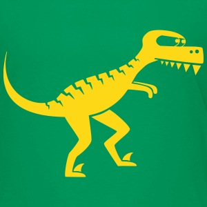 dangerous raptor, dino, dinosaur, monster Shirts - Kids' Premium T-Shirt