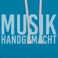Motiv ~ Musik handgemacht - Hoodie