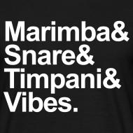Motiv ~ Marimba & Stuff Shirt (Herren)